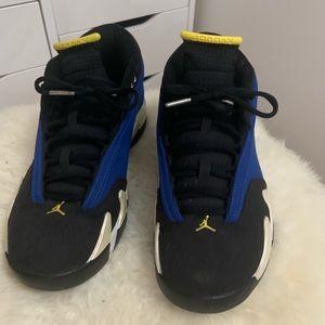 new arrival 977a3 16f25 Women Black And Yellow Jordans 14 on Poshmark